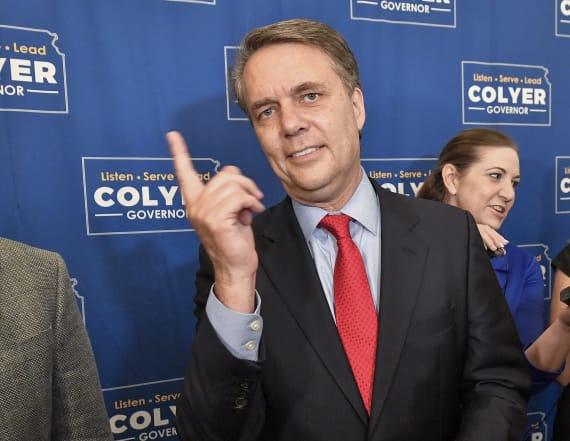 Kansas Governor concedes GOP nomination to Kobach