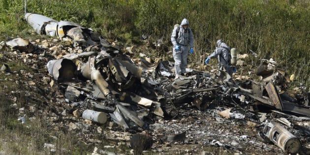 """Syrie: un avion de combat israélien abattu après des raids contre 12 """"cibles iraniennes"""""""