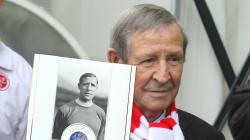 Raymond Kopa, légende du foot français, est
