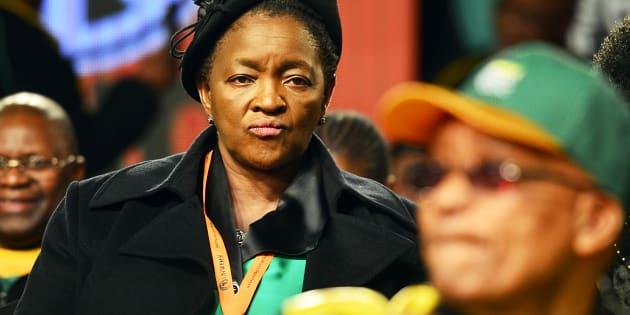 Bathabile Dlamini.