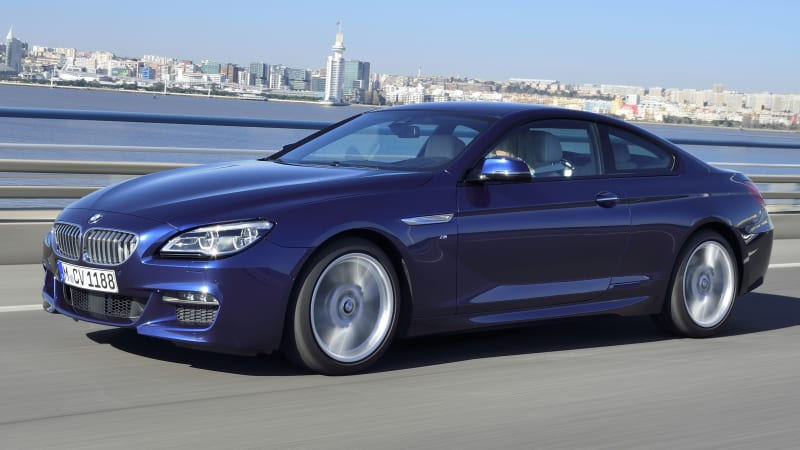 the bmw 6 series coupe is dead autoblog. Black Bedroom Furniture Sets. Home Design Ideas