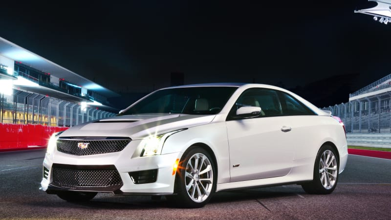 2019 Cadillac Ats V Coupe Quick Spin Review Autoblog
