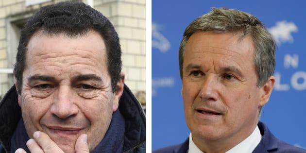 Dupont-Aignan et Poisson vont saisir le CSA contre Yann Barthès