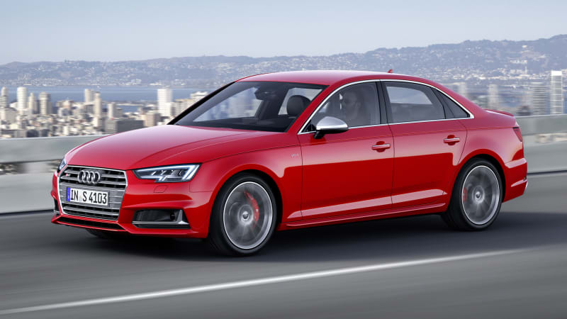 2017 audi s4 switches to turbo power loses manual autoblog sciox Images