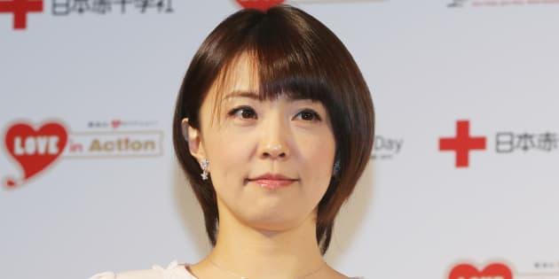 小林麻耶さん (Photo by Sports Nippon/Getty Images)