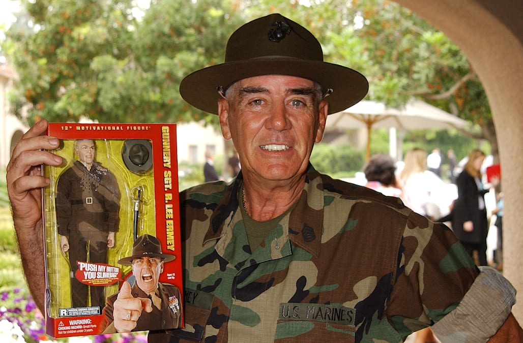 R Lee Ermey Full Metal Jacket Golden Globe Nominees At
