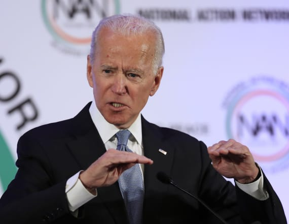 Biden delivers powerful message against racism