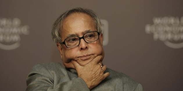 File photo of President of India Pranab Mukherjee.