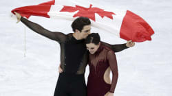 Tessa And Scott. Phylicia. Mark. We Loved These Olympic