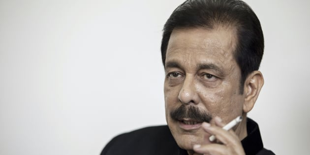 Subrata Roy, chairman of Sahara Group, holds a cigarette as he speaks during an interview in Lucknow, India, on Monday, May 6, 2013. Roy's closely held Sahara India Pariwar group of companies includes real estate developers, insurers, media assets and sports teams. Photographer: Prashanth Vishwanathan/Bloomberg via Getty Images