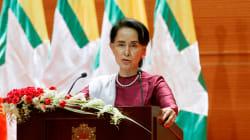 Finalmente, la líder birmana Suu Kyi condena abusos a los