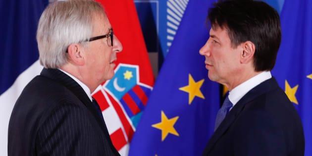 Juncker e Conte