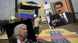 Branson vs Maduro: pro et anti-gouvernement s'affrontent par concerts interposés au
