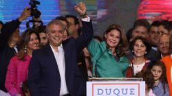 Duque gana las elecciones en Colombia acompañado de la primera vicepresidenta del