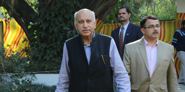 MJ Akbar in a file photo.