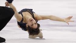 La patineuse artistique canadienne Meagan Duhamel a des Jeux olympiques bien