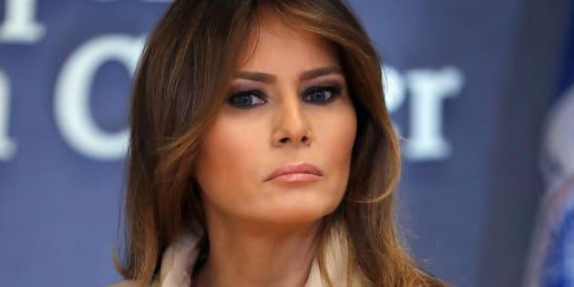 Melania Trump à Washington le 6 juin 2018.