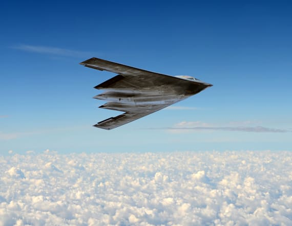 Stealth bomber for Area 51? Military unit apologizes