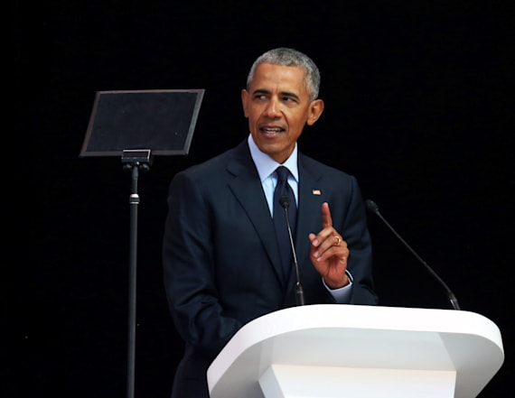 Obama slams leaders who lie with 'loss of shame'