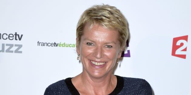 Elise Lucet à Paris en 2013.