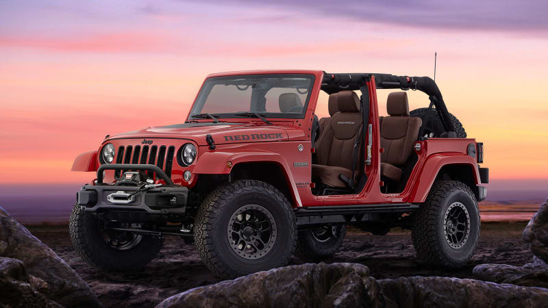 Jeep Wrangler Red Rock concept brings Moab to SEMA - Autoblog
