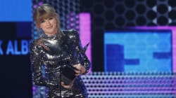 Taylor Swift a battu tous les records aux American Music