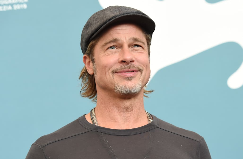Brad Pitt appears to have a new tattoo next to his Angelina Jolie ink - AOL