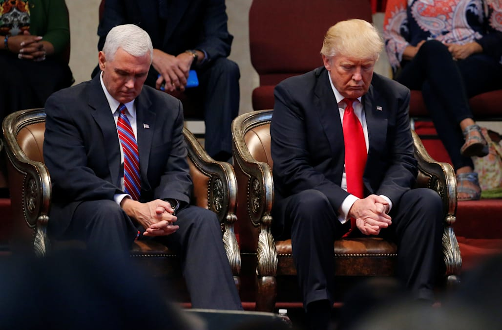 President Trump has not been seen frequenting church services since his  assuming office, but his outward rhetoric on God has changed as of late.
