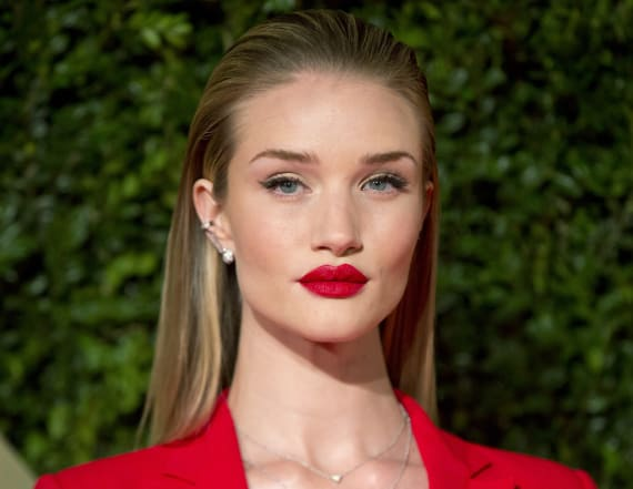 Rosie Huntington-Whiteley: This lotion's a 'legend'