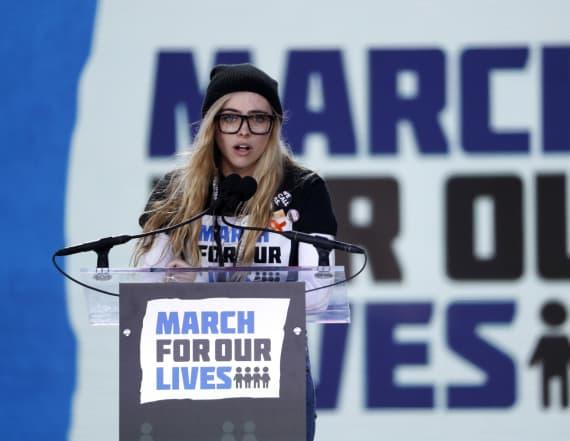 School shooting survivor calls out politicians