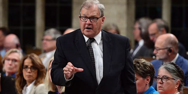 Le ministre l'Agriculture Lawrence MacAulay