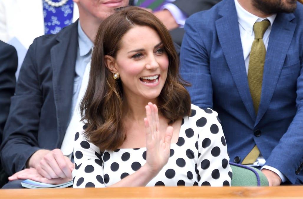 Kate Middleton Debuts Sassy New Haircut At Wimbledon Aol Lifestyle