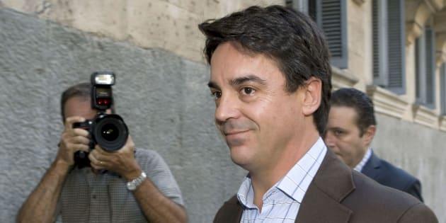 El exconcejal de Urbanismo del PP del Ayuntamiento de Palma, Javier Rodrigo de Santos, a su llegada a la Audiencia Provincial de la capital balear, en una imagen de archivo.