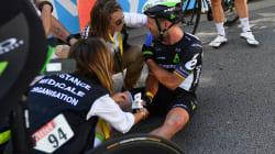 Cavendish contraint d'abandonner le Tour de France après le coup de coude de