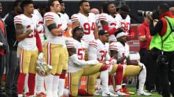 米国を揺るがすアメフト「国歌斉唱」問題、NFLの罰金ルールに選手会が反発