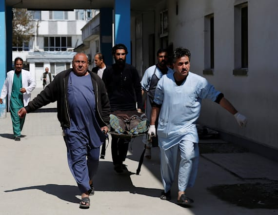 Islamic State claims deadly Kabul suicide bombing