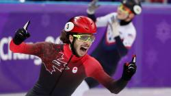 Samuel Girard remporte la médaille d'or du 1000m à