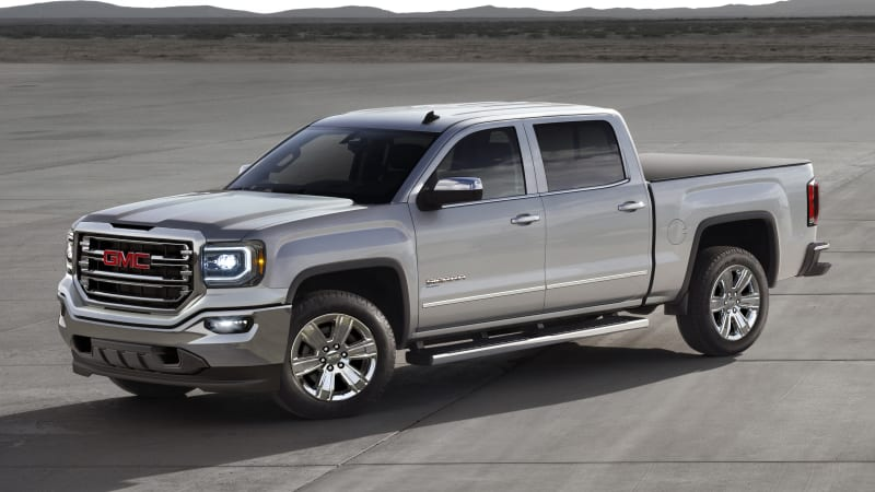 GM trucks get hybrid versions, but you'll probably never see one