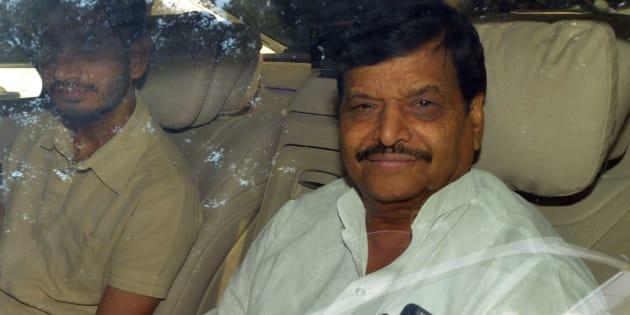 File photo of Samajwadi party leader Shivpal Yadav.