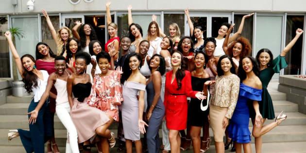 Miss SA 2018 regional finalists.