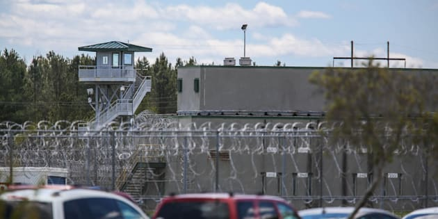 The Lee Correctional Institution, in Bishopville, S.C., remains on lockdown on April 16, 2018, after an overnight riot killed seven while also injuring seventeen other inmates.