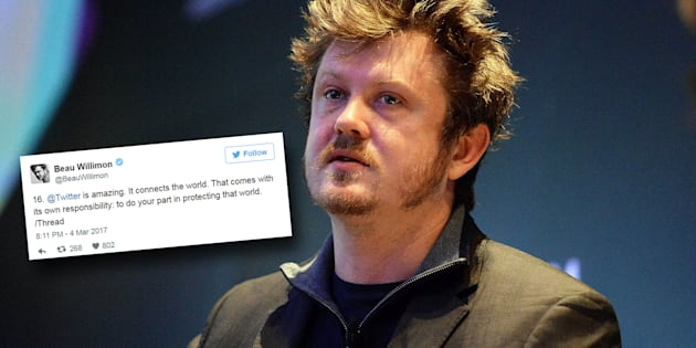 Beau Willimon a interpellé Twitter sur le cas Trump.