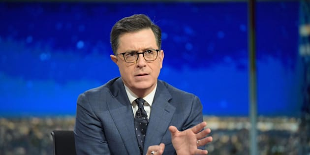 NEW YORK - JANUARY 19: The Late Show with Stephen Colbert during Thursday's 01/19/16 show in New York. (Photo by Scott Kowalchyk/CBS via Getty Images)