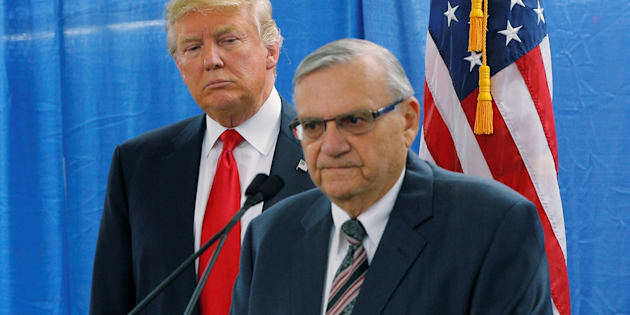 Trump concede la grazia ad Arpaio, lo sceriffo anti-immigrati