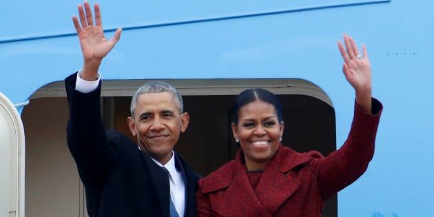 Les Obama décrochent un contrat d'édition à plus de 60 millions de dollars