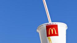 McDonald's veut bannir les pailles en plastique de ses restaurants