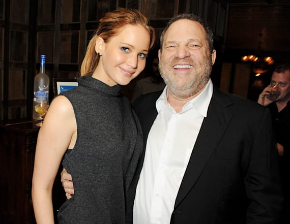 Jennifer Lawrence slams Harvey Weinstein over claim