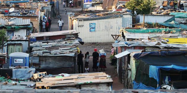 Good Hope, an informal settlement in Ekurhuleni