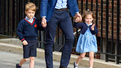 Princess Charlotte Nails The Royal Wave As She And Prince George Meet Their New
