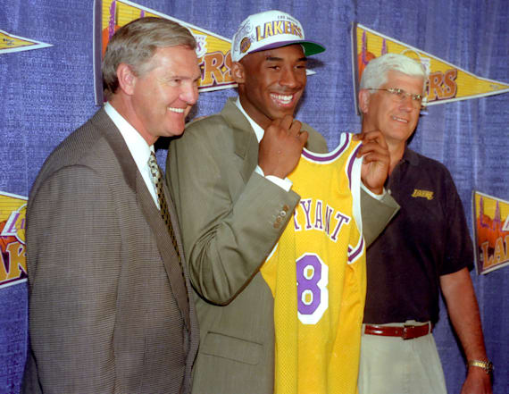Jerry West recalls when Kobe almost left the Lakers